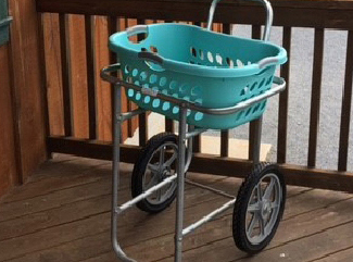 Picture of the Laundry Cart